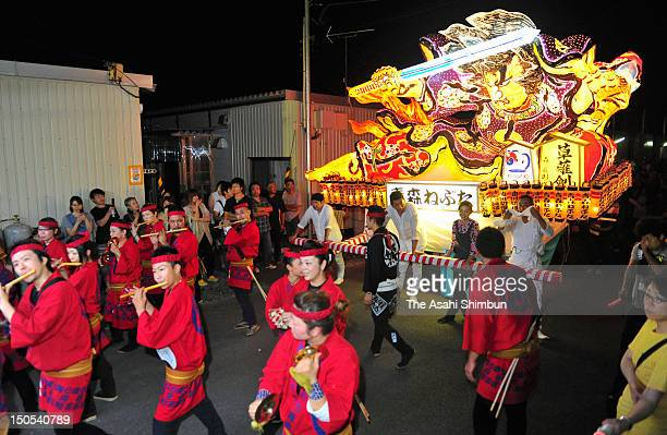 Nebuta Maturi the famous summer festival from Aomori prefecture pays a visit to Miyagi where many evacuees from Great East Japan Earthquake are still...
