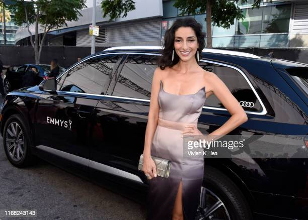 Necar Zadegan arrives at Audi Celebrates the 71st Creative Arts Emmy Awards at the Microsoft Theater on September 14 2019 in Los Angeles California