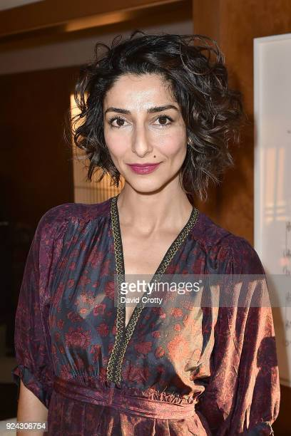 Necar Zadegan attends A Conversation with the Center for Reproductive Rights at Private Residence on February 25 2018 in Los Angeles California