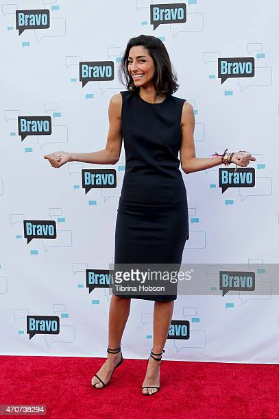 Necar Zadegan attends Bravo's 'For Your Consideration' event at The Globe Theatre on April 21 2015 in Universal City California