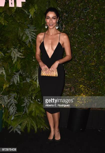 Necar Zadegan attends Max Mara Women In Film Face of the Future at Chateau Marmont on June 12 2018 in Los Angeles California