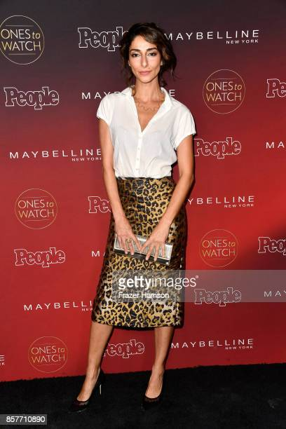 Necar Zadegan attends People's Ones To Watch at NeueHouse Hollywood on October 4 2017 in Los Angeles California