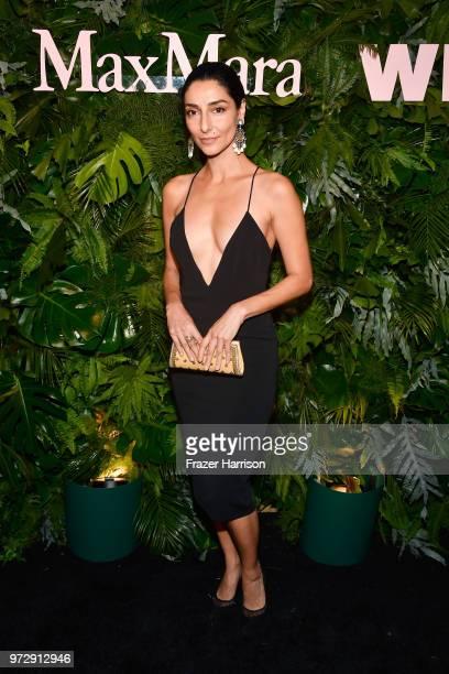 Necar Zadegan attends the Max Mara Celebration for Alexandra Shipp 2018 Women In Film Max Mara Face Of The Future Award Recipient at Chateau Marmont...