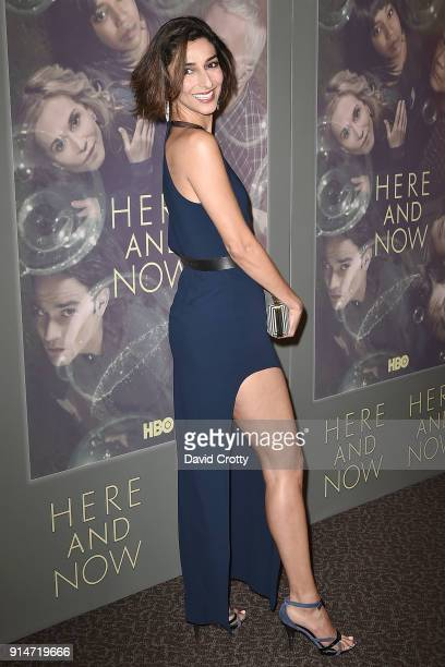 Necar Zadegan attends the Premiere Of HBO's Here And Now Arrivals at Directors Guild Of America on February 5 2018 in Los Angeles California