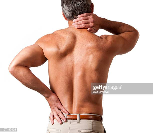 neck and back pain - lower back stock pictures, royalty-free photos & images