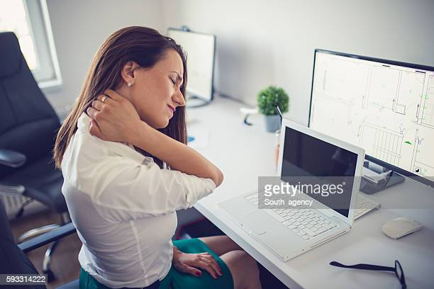 Neck pain at work