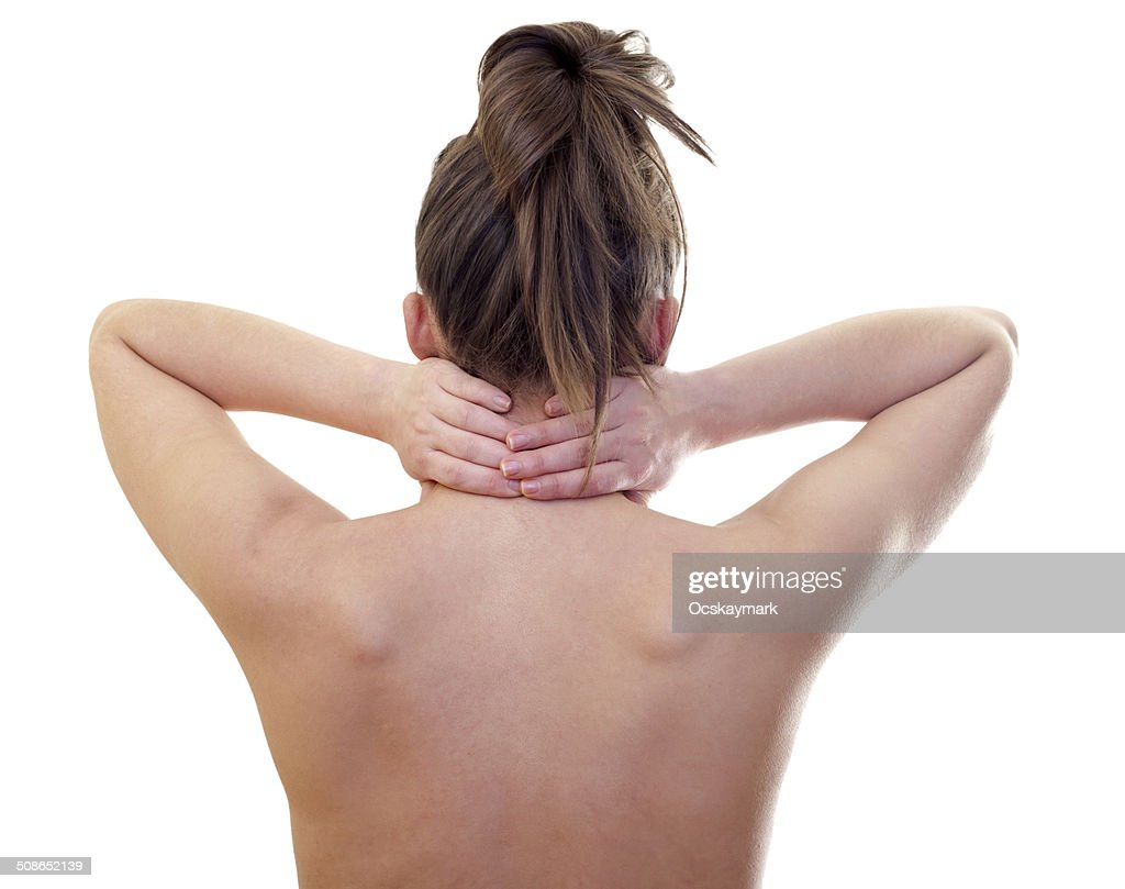 Neck pain : Stock Photo
