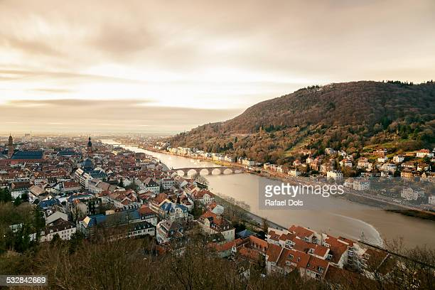 Neckar Valley and the Old Town of Heidelberg