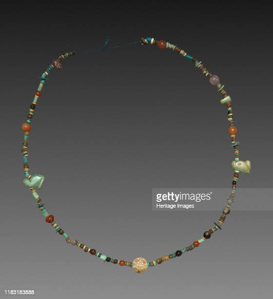 Necklace with Amulets 19801801 BC Creator Unknown