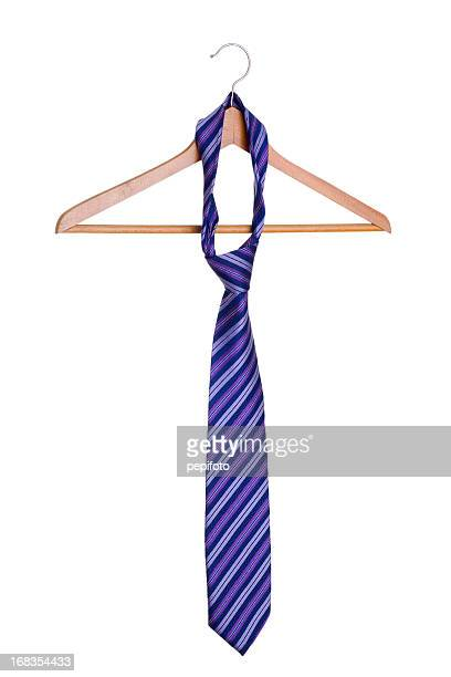 necktie on hanger.