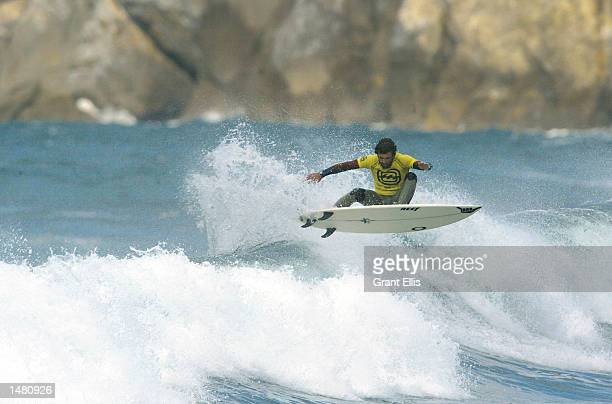 Neco Padaratz of Brazil finished runnerup at the Billabong Pro at Bakio Spain Spain on October 17 The Billabong Pro is the ninth WCT event of 12 for...
