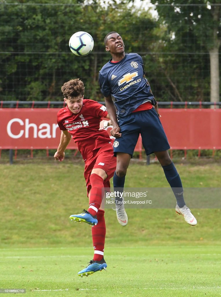 Liverpool v Manchester United - U18 Premier League
