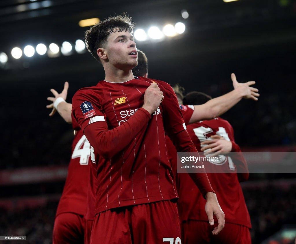 Liverpool FC v Shrewsbury Town - FA Cup Fourth Round: Replay : News Photo