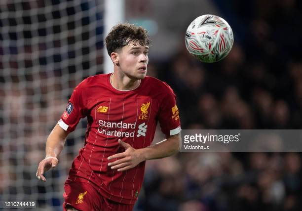 Neco Williams of Liverpool during the FA Cup Fifth Round match between Chelsea FC and Liverpool FC at Stamford Bridge on March 03, 2020 in London,...