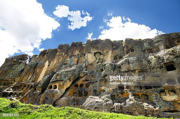 Necropolis Ventanillas de Otuzco. Peru