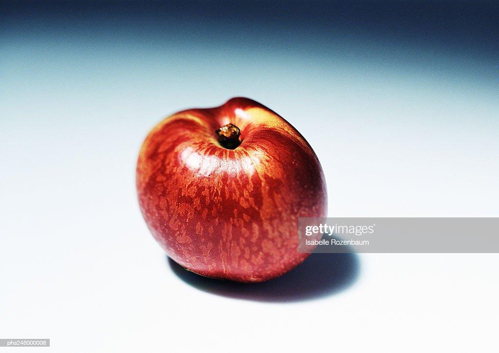 Nectarine, close-up : Stockfoto