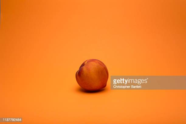 nectarine fruit - peach stock photos and pictures