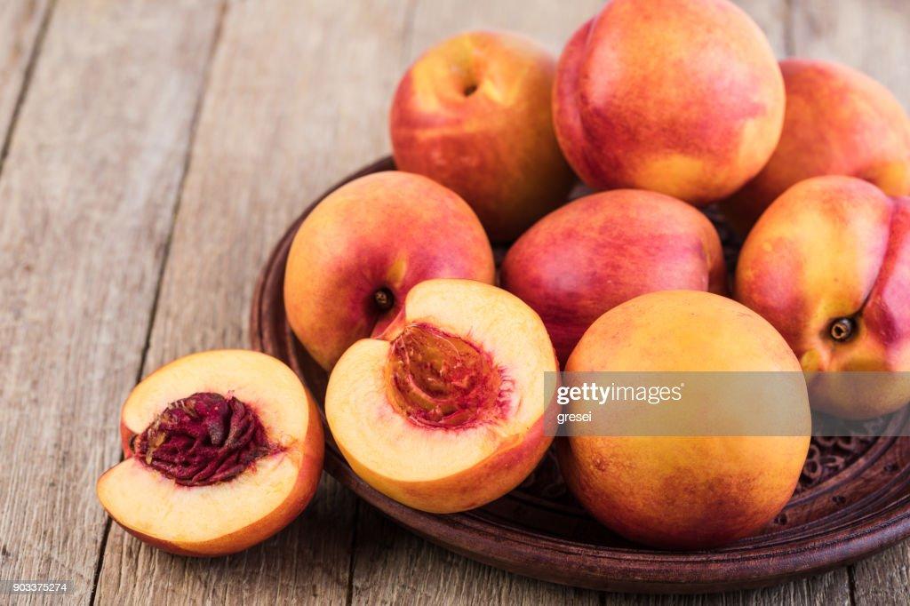 Nectarine : Stock Photo