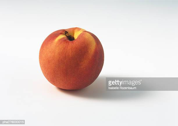 nectarine - peach stock photos and pictures