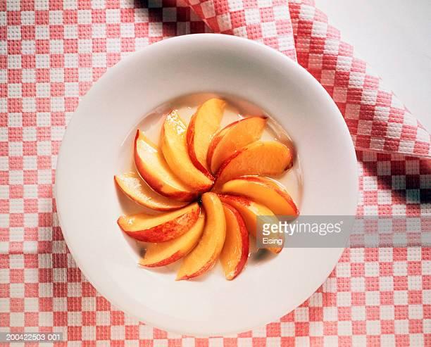 Nectarines In Honey Sauce