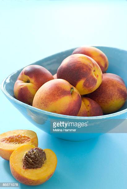 nectarines - wash bowl stock pictures, royalty-free photos & images