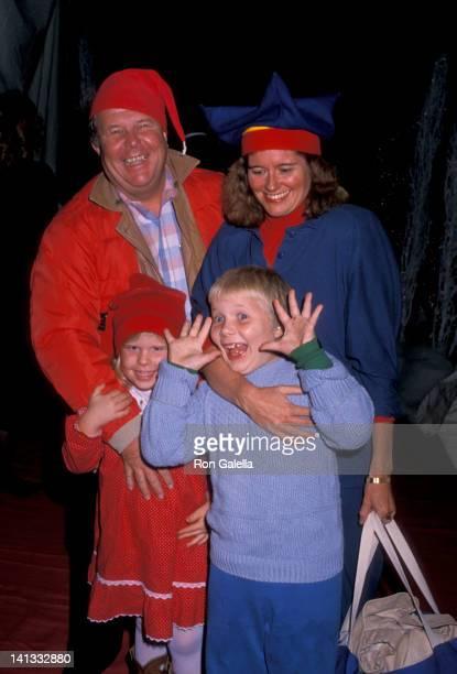 Ned Beatty Dorothy Lindsey Dorothy Beatty and Thomas Beatty at the Hollywood Christmas Parade KTLA Studios Hollywood