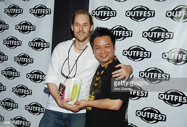 Ned Farr, Recipient of Outfest award for Outstanding American Narrative Feature, and Rex Lee