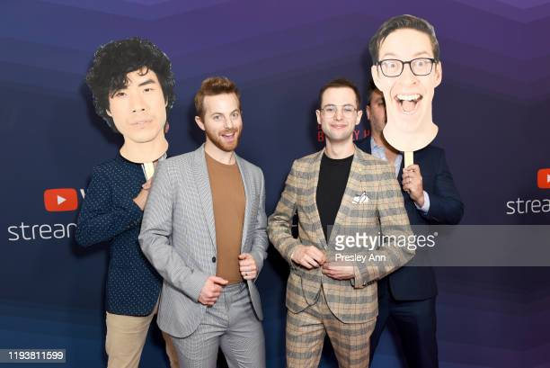Ned Fulmer and Zach Kornfeld attend The 9th Annual Streamy Awards on December 13 2019 in Los Angeles California