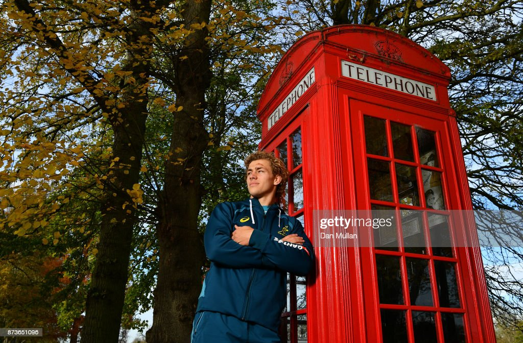 Ned Hanigan of Australia poses for a portrait prior to a training session at the Lensbury Hotel on November 13, 2017 in London, England.