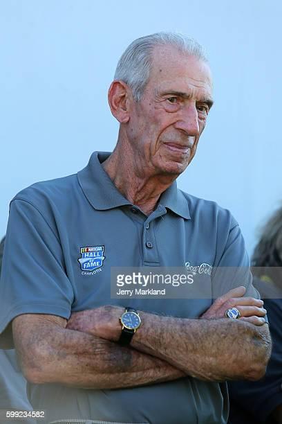 Ned Jarrett during the NASCAR Sprint Cup Series Bojangles' Southern 500 at Darlington Raceway on September 4 2016 in Darlington South Carolina