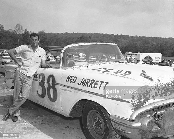 Ned Jarrett ran six of the eight NASCAR Convertible Series races he entered in his own 1957 Chevrolet during the season