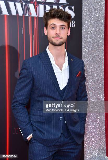 Ned Porteous attending the British Soap Awards 2018 held at The Hackney Empire London