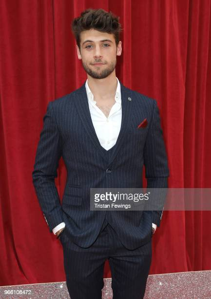 Ned Porteous attends the British Soap Awards 2018 at Hackney Empire on June 2 2018 in London England