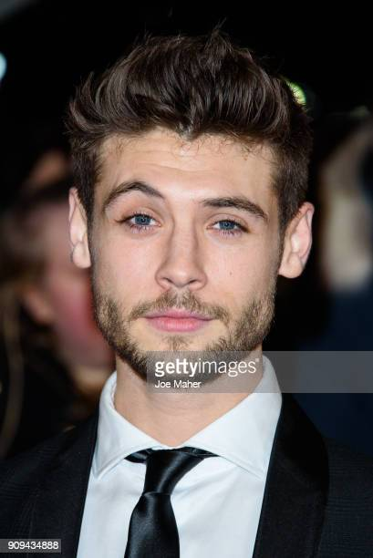 Ned Porteous attends the National Television Awards 2018 at The O2 Arena on January 23 2018 in London England