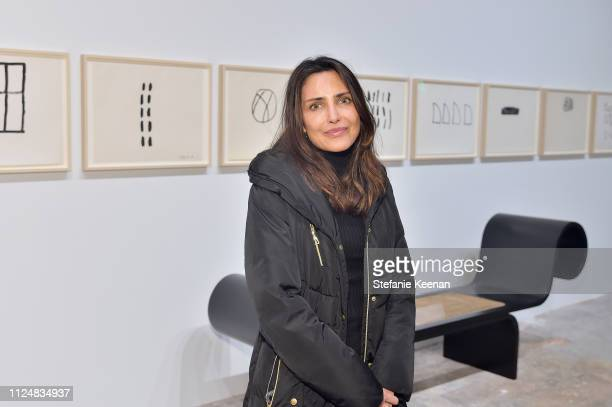 Neda Disney attends Hauser Wirth Los Angeles Opening of Annie Leibovitz and Piero Manzoni and Musical Performance by Patti Smith at Hauser Wirth on...