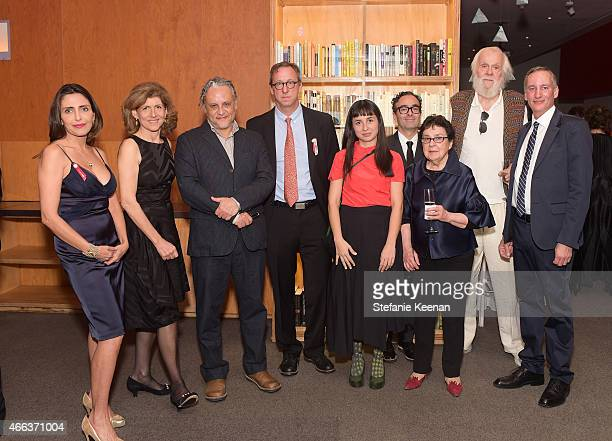 Neda Disney Honoree Jamie Lynton Honoree Gabriel Orozco Tim Disney Ruth Estevez Jose Kuri Marian Goodman artist John Baldessari andExecutive Director...