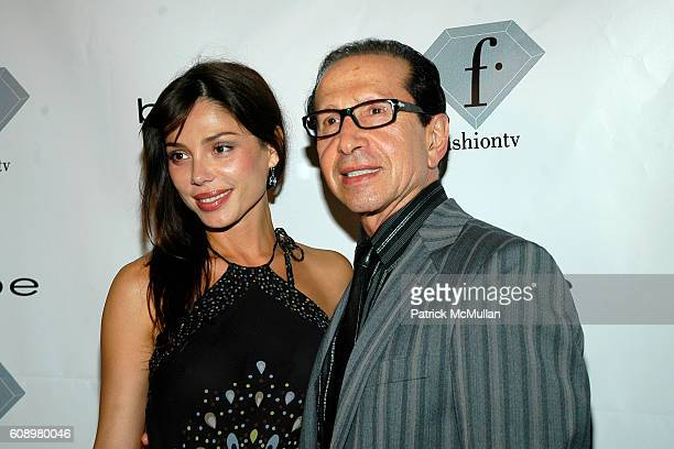 Neda Mashouf and Manny Mashouf attend Fashion TV's Tenth Anniversary Celebration with Amber Valletta and Bebe at Social on May 2 2007 in Hollywood CA