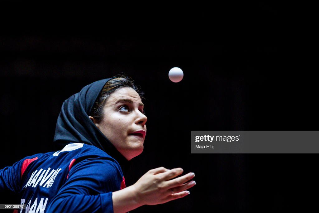 Table Tennis World Championship - Day 2 : News Photo