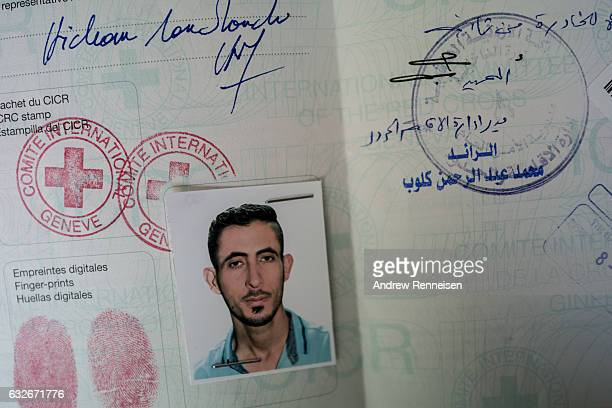 Nedal Al Hayeks International Committee of the Red Cross travel paperwork an emergency travel document recognized by the UNHCR which is given as a...