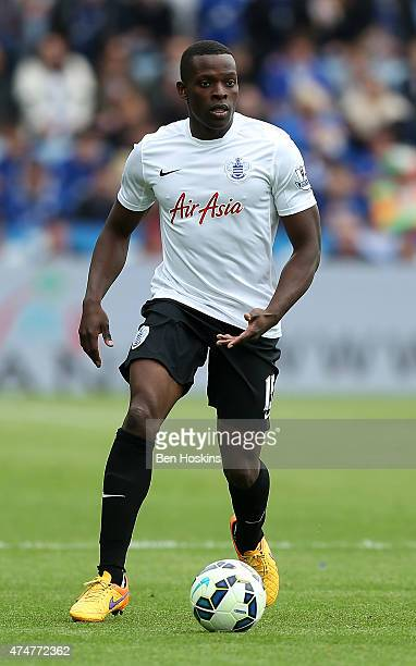 Nedum Onuoha of QPR in action during the Premier League match between Leicester City and Queens Park Rangers at The King Power Stadium on May 24 2015...