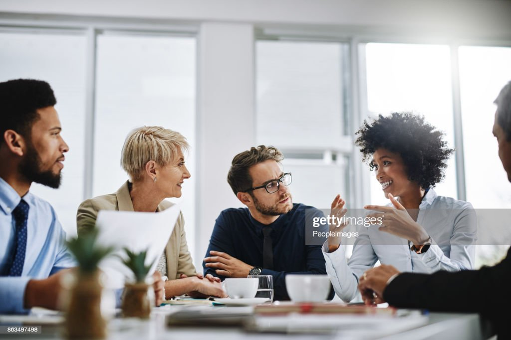 I need everyone to give me their best ideas : Stock Photo