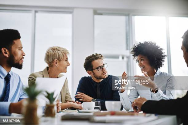i need everyone to give me their best ideas - business meeting stock pictures, royalty-free photos & images