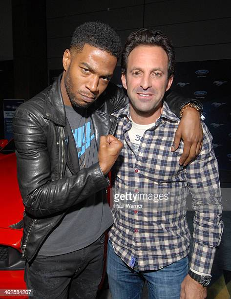 Need for Speed director Scott Waugh and Scott Mescudi, aka Rapper Kid Cudi, attend a preview of the film at the media preview for 2014 North American...