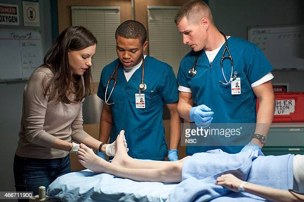 SHIFT 'Need To Know' Episode 207 Pictured Jill Flint as Jordan Alexander Robert Bailey Jr as Paul Cummings Brendan Fehr as Drew Alister