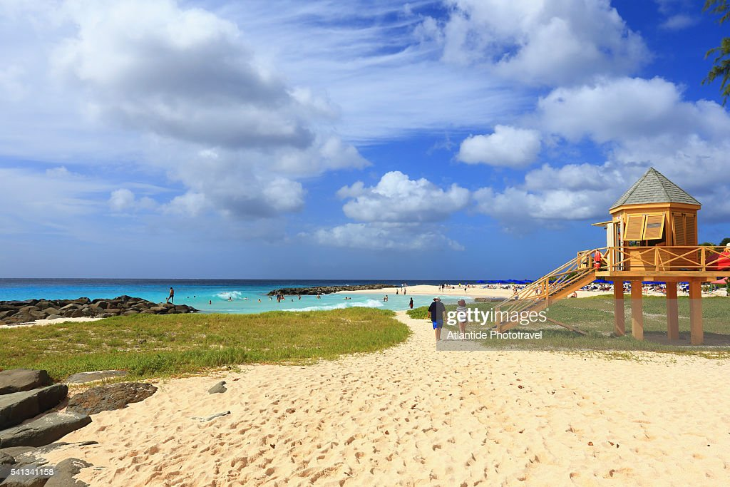 Needhams Point Near The Hilton Hotel Resort Stock Photo Getty Images
