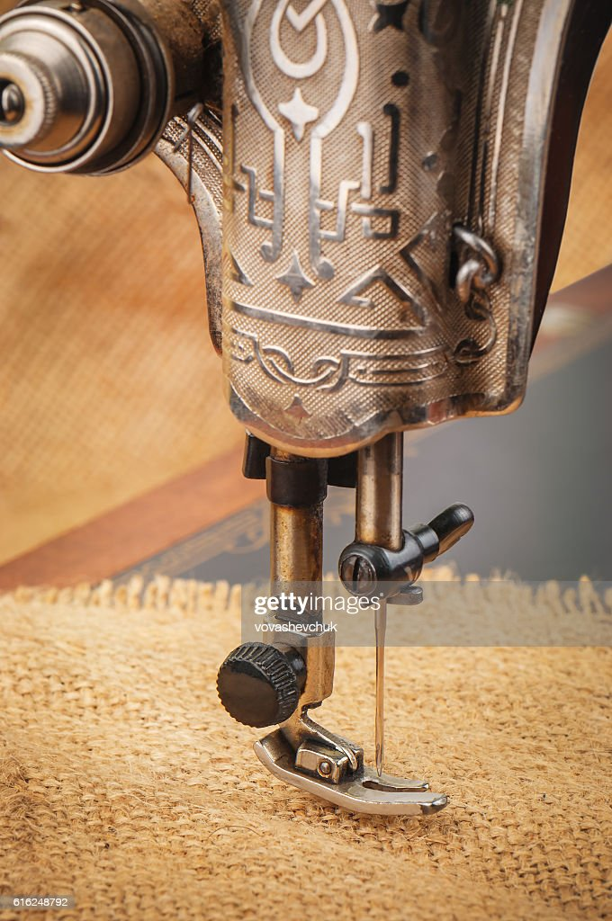 needle of sewing machine : Stock Photo