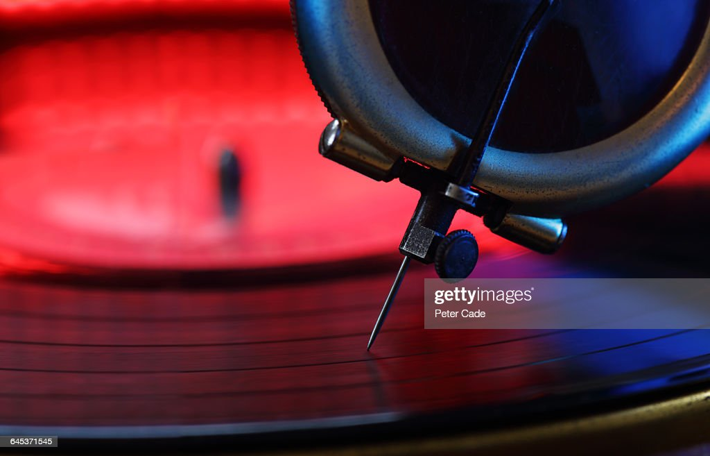 needle on record : Stock Photo