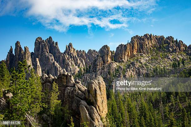 needles - black hills stock pictures, royalty-free photos & images