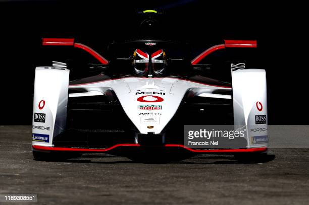 Neel Jani of Switzerland driving the Porsche 99X Electric and TAG Heuer Porsche Formula E Team on track during qualifying for the ABB FIA Formula E...