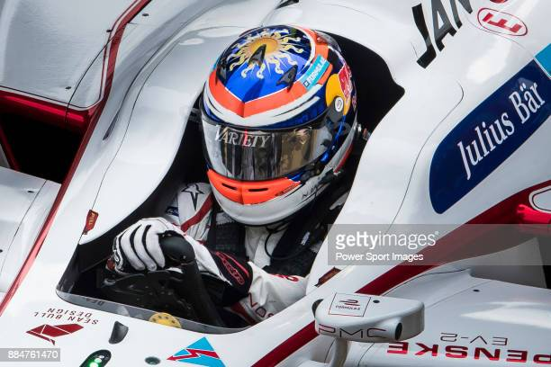 Neel Jani of Switzerland from DRAGON on track at the Formula E Non-Qualifying Practice 3 during the FIA Formula E Hong Kong E-Prix Round 2 at the...